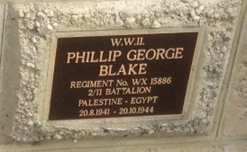 Blake, Phillip George