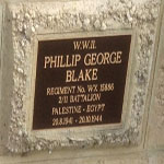 BLAKE Phillip George