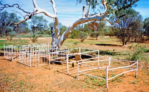 AH KONG burial site - Milly Milly Station, Western Australia