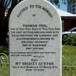 PEEL Thomas & AYRTON Bridget Peel