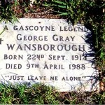 WANSBOROUGH George Gray