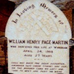 MARTIN William Henry Page