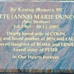 DUNCOMBE Annette Marie